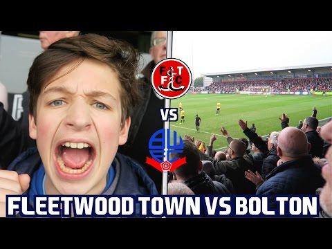 FLEETWOOD TOWN vs BOLTON VLOG! *6 GOAL THRILLER* AWAY DAY! 🔥