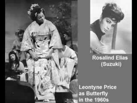 Madama Butterfly 1962: #6 Act II Una nave da guerra (Flower Duet). Leontyne Price