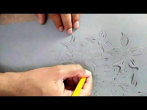 Paper Cutting Art: DIY Lightning Idea    Q&S Tube YOUTUBE