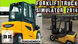 Forklift Truck Simulator 2014 Gameplay PC HD