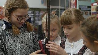 UTV. Слабовидящим детям разрешили потрогать экспонаты в музее