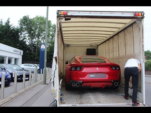 2018 Ferrari 812 Superfast Delivery. + Start Up & Rev