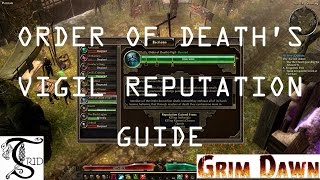 Grim Dawn -  Order of Death