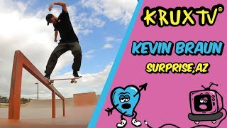 Surprise surprise! Kevin Braun rips the Surprise, AZ park