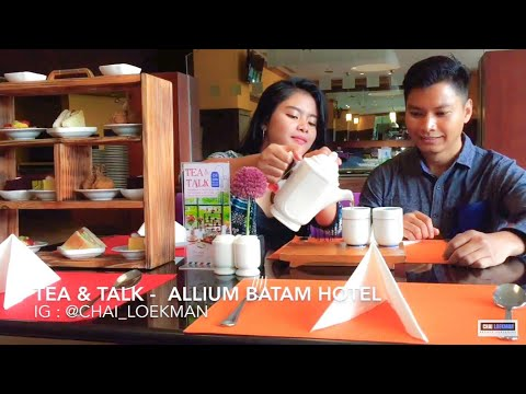 Tea & Talk at Allium Batam Hotel