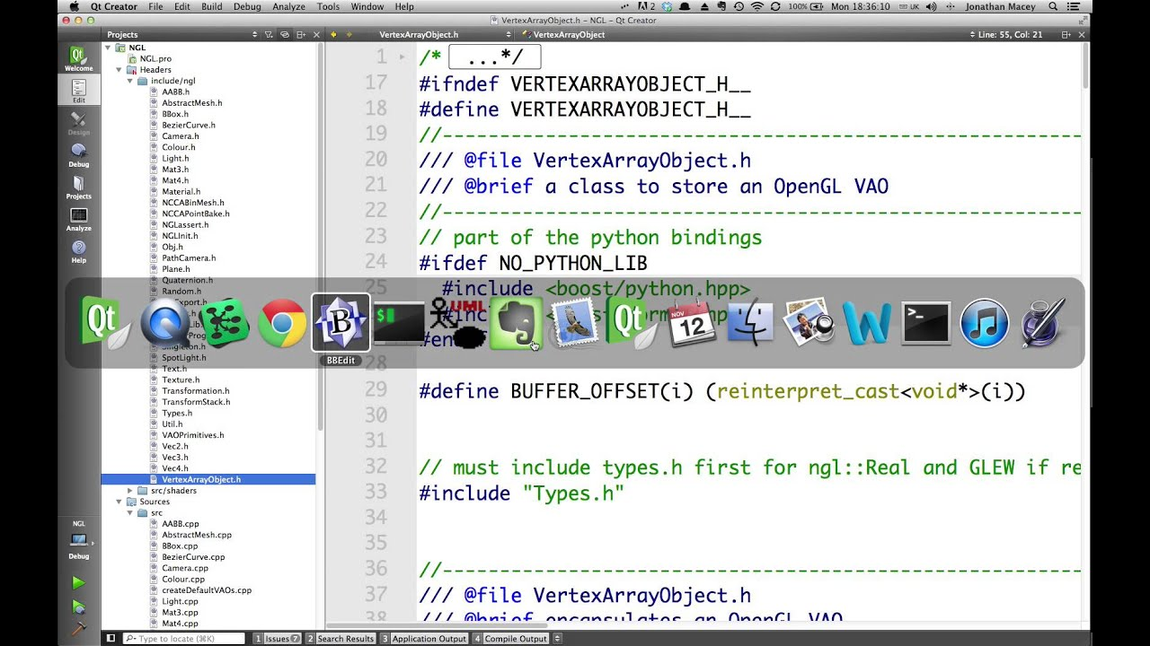 Python configure ldflags