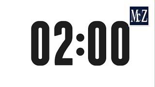 2 minute countdown timer - Conto alla rovescia 2 minuti