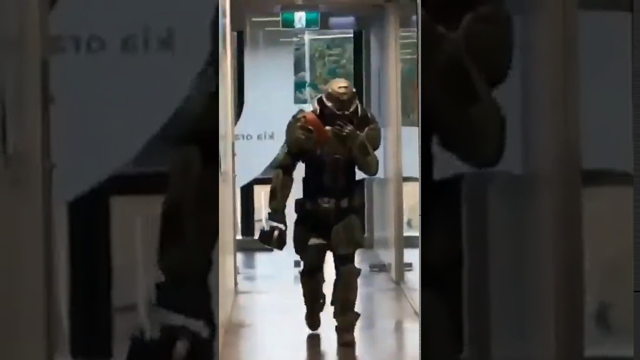 Doom Slayer School Cosplay Original Youtube