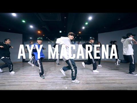 Tyga - ayy macarena Choreography by NARAE / E Dance Studio 이댄스학원 힙합댄스
