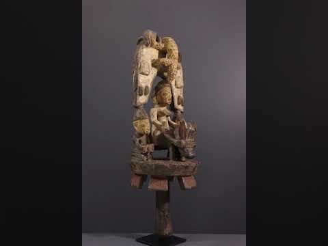 Download Art tribal  - Statues africaines - Sculpture d'autel Yoruba Osé sango