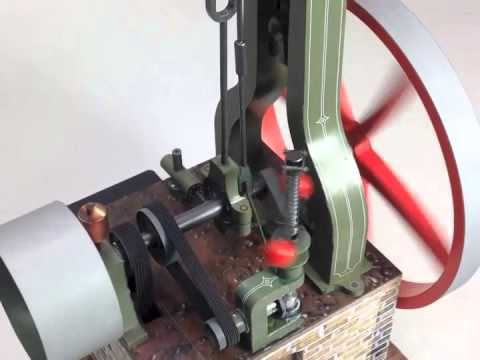 Papercraft Paper Model Steam Engine