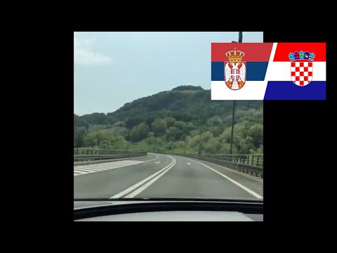 UK to BULGARIA - (Croatia to Serbia) EPIC ROAD TRIP
