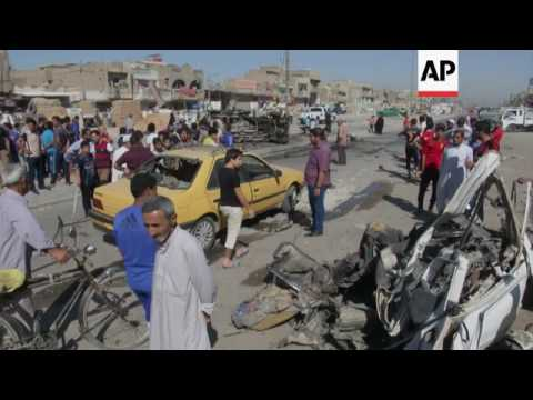 Iraq - Suicide bomb attack on cafe that killed at least 38 in Kirkuk / A dozen car bombs kill at lea