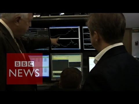 Russian rouble in free-fall - BBC News