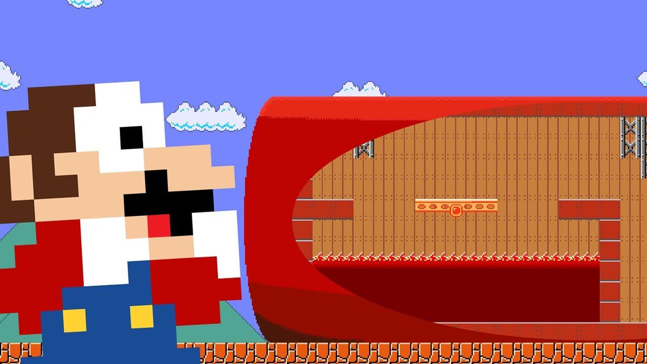 Mario vs The Giant Hat Maze