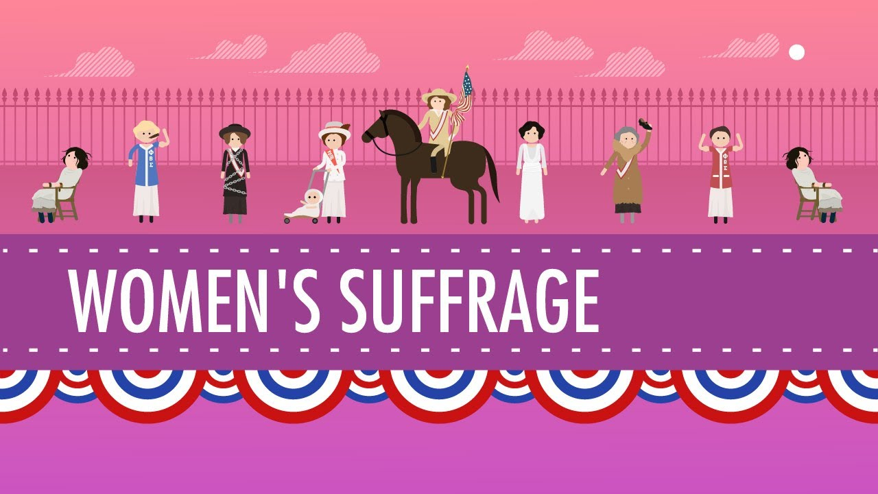 women s suffrage crash course us history  women s suffrage crash course us history 31