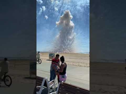Ocean City fireworks canceled after early detonation