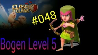 Clash of Clans Deutsch 048 Handy Bogen Level 5