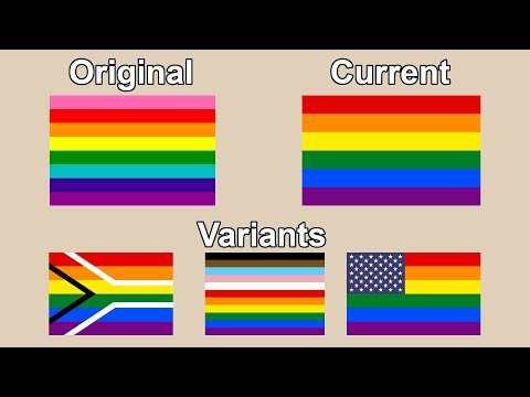 Quick History Of The Gay Pride Flag