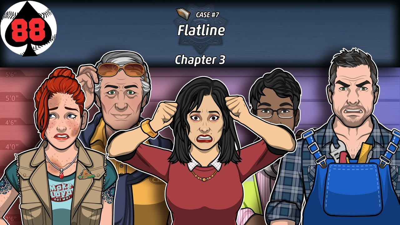 Criminal Case: The Conspiracy - Case 7 - Flatline - Chapter 3