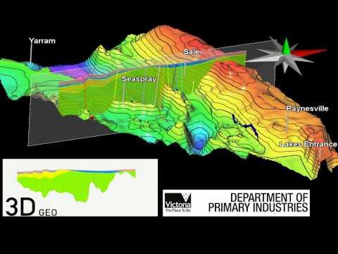 CCS 3D-Geo 3D Onshore Gippsland Model