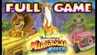 Madagascar Kartz FULL GAME Longplay (PS3, X360, Wii)