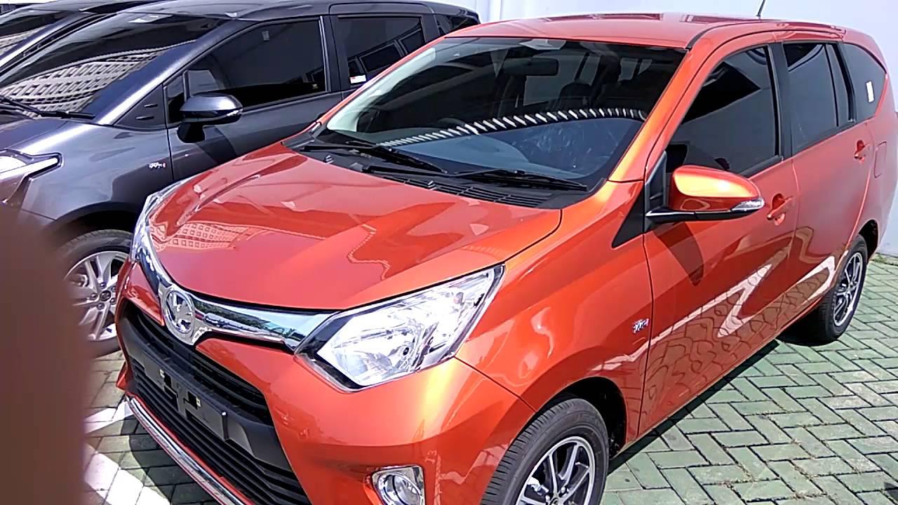 Toyota Calya Line Up Pilihan Warna Orange Silver Dan Merah Youtube