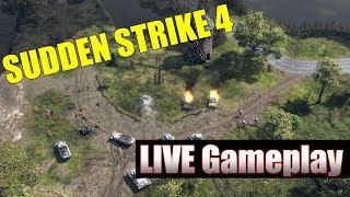 Sudden Strike 4 LIVE Gameplay Part One