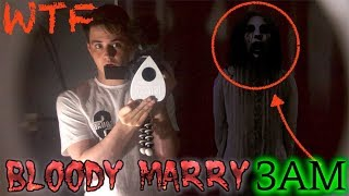 TERRIFYING BLOODY MARY RITUAL CAUGHT ON CAMERA (She showed herself)