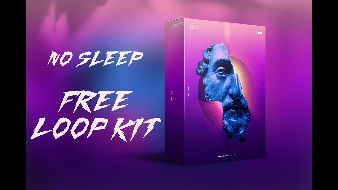 (FREE) Trap Loop Kit/Pack 2020 - No Sleep (Cubeatz, Murda, Travis Scott Type Samples)