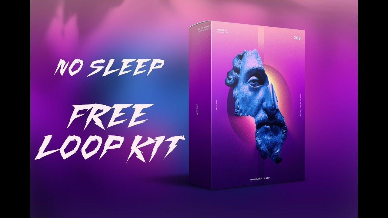 (FREE) Trap Loop Kit/Pack 2020 - No Sleep (Cubeatz, Murda, Travis Scott Type Samples)