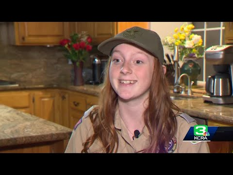 Mazzy - Girl joins Boy Scout troop