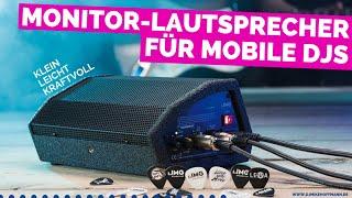 Monitor Lautsprecher Flat M100 von IMG Stageline | dj speaker