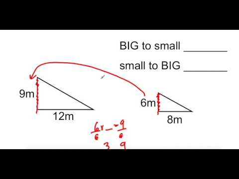 Finding Scale Factor Big to Small and Small to Big