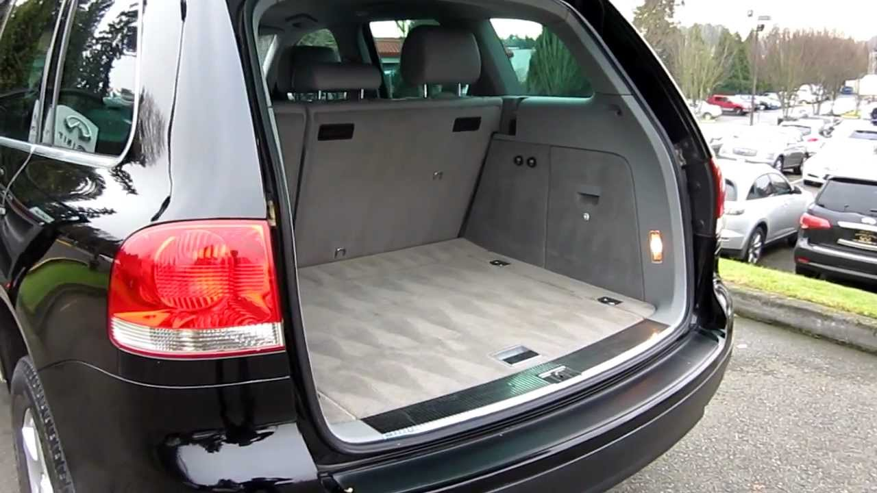 2004 volkswagen touareg v6 black stock 5056b. Black Bedroom Furniture Sets. Home Design Ideas