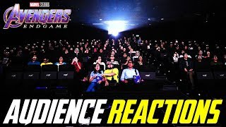 Avengers Endgame Best Parts Audience Reactions
