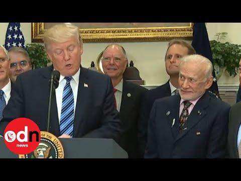 Buzz Aldrin reacting to Trump makes internet go wild