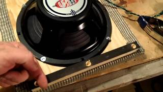 Tube Amplifier - Video 18 - Building A Vibroclone - The Cabinet Part 4