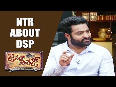 Jr NTR & Koratala Siva About Devi Sri Prasad Music | Exclusive Interview | V6 News