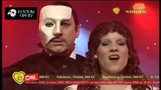 Marian Vojtko a Michaela Gemrotová - Fantom Opery (The Phantom of the Opera)