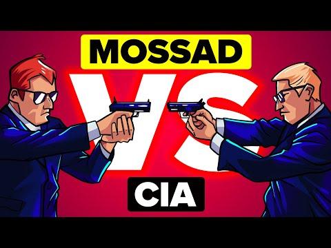 Mossad vs CIA - How Do They Compare?