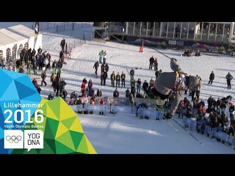 Ski Halfpipe - Birk Iving (USA) wins Men's gold   Lillehammer 2016 Youth Olympic Games