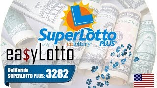 SUPERLOTTO PLUS winning numbers Sep 15 2018