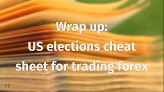Wrap up: US elections cheat sheet for trading forex