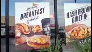Taco Bell launches breakfast hours, menu with waffle tacos.