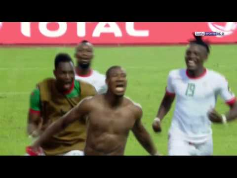 CAN 2017 Burkina Faso vs Tunisie (2-0) - Les Buts 28-01-2017 [Issam Chaouali]