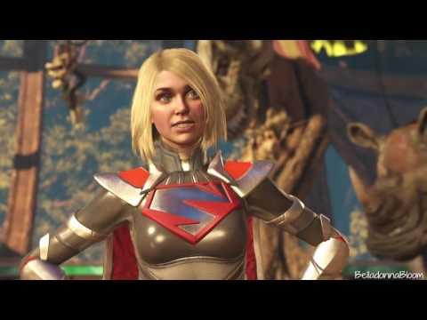 Injustice 2 - Supergirl Story Ladder (Master Battle)