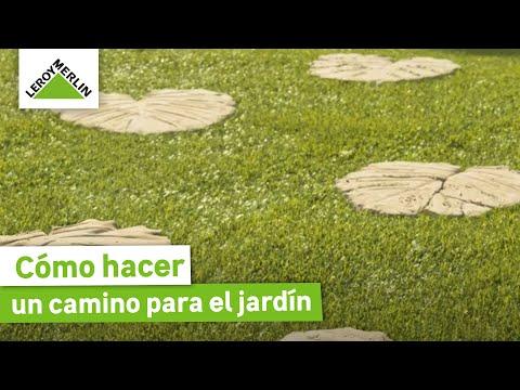 un camino en forma de hojas leroy merlin youtube