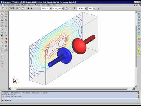 Advanced Visualization Tools for Electric Field Analysis
