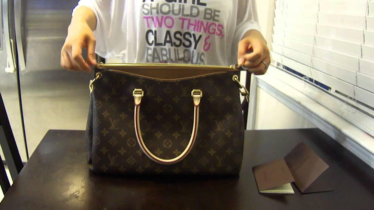 e9416c32ae7e Louis Vuitton Pallas - YouTube